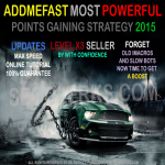 Addmefast points powerful Points gaining strategy Rankings Methods included