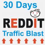30 days Reddit traffic blast for your website