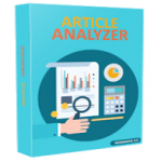 Article Analyzer - Analyze Articles for Keyword Density