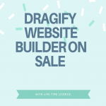 Dragify website builder drag and drop on sale