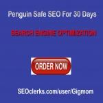 Penguin Safe SEO For 30 Days