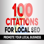 Create 100 map Citations for Local SEO