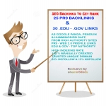 Manual 30 PR9 + 30 EDU and GOV Profile Backlinks to Boost Ranking of Website or Youtube Video