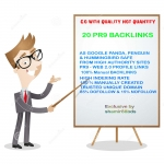 Manually Make 40 PR9 SEO Backlinks from HIGH Authority Domains