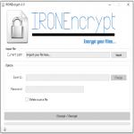 IRONEncrypt - Encrypt/Decrypt Your Files