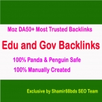 Manual 21 Edu and Gov Moz DA50+ Most Trusted Profile Backlinks To Boost Ranking