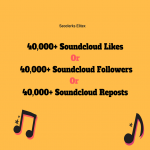 Non Drop 40,000+ Soundcloud Followers or Likes or Reposts