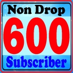 Non Drop 600+ you-tube Sub-scriber Instant Start Refill Guarantee Only
