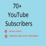 I provide 70+ real YouTube subscribers within very short time manual work