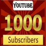 Real Human Active 1000 subscribers Channel fully safe very fast complete