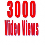 3000 auto photo promotion or 2500 video view on your up coming post