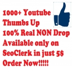 1000+ youtube Likes Real Non Drop