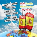 Send 500+ traffic from Spain for 30 days