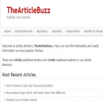 Write and Publish Guest Post on Thearticlebuzz. com