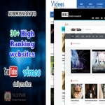 Manually submit your video to 30+ high ranking most visited websites