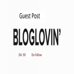 Publish guest post on Bloglovin with dofollow link