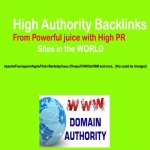 Manual 55x12Pack PR9 High Authority Backlinks for Ranking Up Site or Video