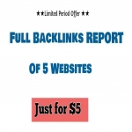 DIG your 5 competitors full backlinks and make separate reports