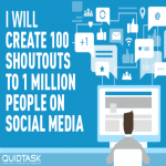 100 Organic Shoutouts to 1 MILLION Real People with Custom Video Creation to boost your rankings,  traffic and SERP