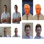 Make background of 2 images transparent