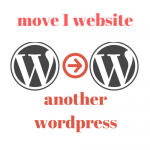 I'll move your wordpress site to another wordpress site migration