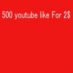 500 High Quality Active fast YouTube Likes