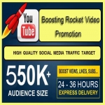 Promote Boosting Rocket Traffic To Your Youtube Video