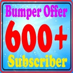 Add 600+ non drop permanent You-Tube sub-scribes fully safe very fast only