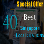 Add your business details in top 40 Singapore citation sites manually
