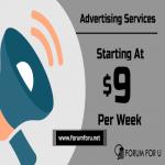 7 days banner advertising on Forum For U