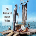 We create your High Quality 3D animated music video