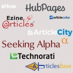 I Can Sign up in 200+ Article submission Websites