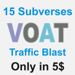 Dirty Website Massive Traffic Blast on Voat post in 15 subverses