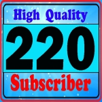 Add 220+ high quality sub's-criber very fast