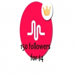 Greatest 150 Musical. ly Followers Will be Added to Your Account Just