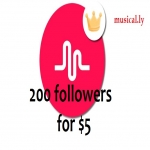 Greatest 200 Musical. ly Followers Will be Added to Your Account Just