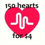 Greatest 150 Hearts Will be Added to Your Musical. ly Videos Just