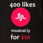 Greatest 400 Likes Will be Added to Your Musical. ly Video Just