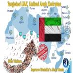 Send 25.000 UAE web visitors real targeted geo traffic