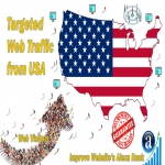 Send 50.000 USA web visitors real targeted geo traffic