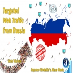 Send 25.000 Russia web visitors real targeted geo traffic