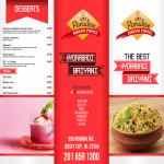 Creative Restaurant Menu and Banner Premium Quality Design