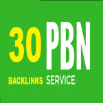 Offer 30 PBN Backlinks DA 20+ and TF 20+To Skyrocket you SERP