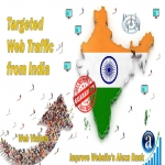 Send 25.000 India web visitors real targeted geo traffic
