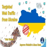 Send 20.000 Ukraine web visitors real targeted geo traffic