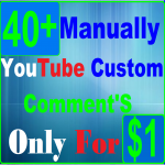 Get HQ Profile 40+YouTube Custom Com ment's Real Instant Start Now