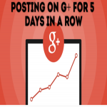 Post on Google+ Communities for 5 Days in A Row
