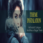 Install and Configure WordPress or Blogger Theme