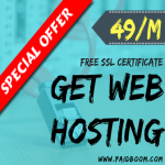 SSD Powered WebHosting with Free SSL Certificate