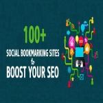 Do manually high PR & DA Social Media Bookmarking Top 100 websites